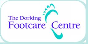 the dorking footcare centre logo